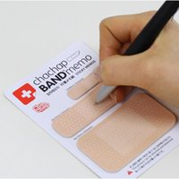 Wholesale Stickers Notes - Band Aid Series Memo Pad Post It Stickers Sticky Notes Paper Notepad Kawaii Stationery Office Supplies