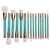 Wholesale Q Up - Professional Makeup Brush Set High Quality Make Up Brushes Fan Powder Makeup Brushes Kit #Q