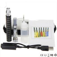 Wholesale ego k kits - CE4 ego K starter kit ego King single kit ce4 atomizer egok 650mah 900mah 1100mah battery usb charger zipper case e cig kits