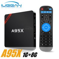 A95X NEXBOX S905X Smart TV Box Android 6.0 Amlogic 1G 8G Quad-Core 64 bits kd 4K Mini PC WiFi LAN DLNA Miracast HD Media Player