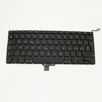 A1278 Clavier Suisse Swiss Replacement Keyboard pour Macbook Pro 13
