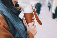paslanmaz çelik kahve mum astar toptan satış-Seyahat Kahve Kupa Çay Süt Fincan Ünlü Marka Ofis Seyahat Kupa Yaratıcı Uğurlu Pençe Kahve Kupa Paslanmaz Çelik Astar Fincan