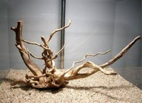 Wholesale Wholesalers China Fish Tank - Wholesale- Natural Driftwood Aquarium Fish Tank Tree Trunk Plant Wood Decoration DIY Perfect For Aquarium Tree Trunk Plants Driftwood