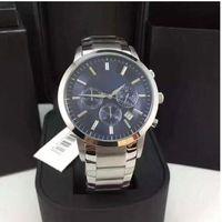 Wholesale Box Calendar - All Subdials Work Luxury Watches Best Men watch AR2448 AR2424 A2458 316 Stainless steel Top Brand Casual Business Quartz watch +Original box