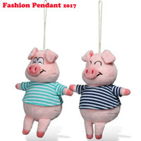 Wholesale Wedding Pigs Plush Toy - Cute pig plush Wedding gift PP cotton 15cm NEW Plush Toys Doll For Children's Baby Birthday Holiday Gift Lovely kid Toy