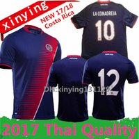Wholesale Special Shirts - top thai 2017 Gold Cup special Costa Rica Soccer Jerseys 17 18 COSTA RICA K.WASTON football shirt 10 pieces free shipping dhl