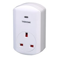Wholesale Z Home - Hot sale CE Z-Wave plus certified UK EU FR Z-Wave wall plugs TZ68 for smart home