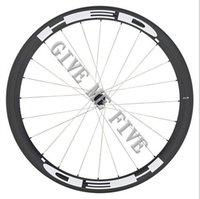 Wholesale Rear Hub 24h - Basalt braking surface UD 3k AWST carbon wheels 50mm 23mm wideth glossy road bike wheels Black hubs Powerway Hubs 20H 24H