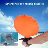Air Bag Lifesaving Wristband Pallone galleggiante automatico Nuoto Salvataggio Life Buoy Piscina Survival Tool 100pcs OOA2243