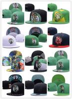 Wholesale Boston Snapback Hats - 2017 New Snapback Cap Baseball Hat For Men Women boston Sport Hip Hop Mens Womens Basketball Cap adjustable Good Quality bone gorra Cheap