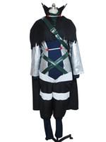 trajes de hadas xxl al por mayor-Fairy Tail Cosplay Mystogan Costume Uniforme Conjunto completo H008