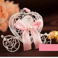 süßigkeiten boxen europa großhandel-200pcs Art und Weise Europa Wagen-Süßigkeitskasten-Hochzeitsbevorzugung Liebessüßigkeitskasten-Hochzeitsbevorzugungskasten geben Verschiffen frei WA2370