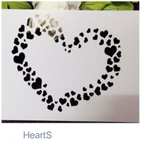 Wholesale More Lasers - Drawing stencil wholesale laser cut stencils Masking template For Scrapbooking album DIY cardmaking and more-little love 025
