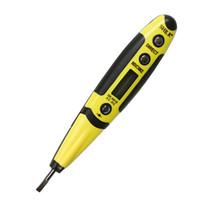 Wholesale Digital Ac Dc Voltage - Digital Electrical Voltage Detector Test Pen Multi-sensor 12-250V AC DC Measure Volt Detector With Night Vision