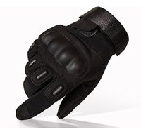 Wholesale Hard Finger - Tactical Gloves Military Hard Knuckle Outdoor Gloves Men Fit Cycling Motorcycle Hiking Camping Powersports Airsoft Paintball