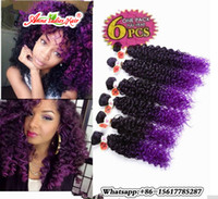 Wholesale Synthetic Hair Extension Noble Gold - 14inch 6pcs pack Noble Gold Hair Extensions Curly synthetic weave bundles Sew in Weave
