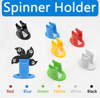 Wholesale Wholesale Retail Displays - Fidget Spinner Holder For Various Models Hand Spinner Support Hard Plastic Display Stands Stand Kicstand Spinning Top Toy Mount