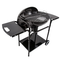 Camping Stoves outdoor bbq pits - Charcoal BBQ with cart Frame furnace outdoor barbecue pits household BBQ grill charcoal