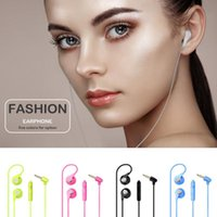 Wholesale Asus Wire - Universal HD Mic Sport Earbud Stereo Music Earphone Earset For Xiaomi iPhone 7 Plus Samsung HTC Sony Huawei Lenovo ZTE Wiko ASUS