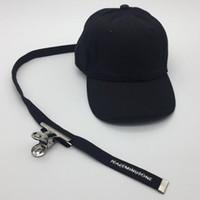 Wholesale Gorras Fashion Hombre - Peaceminusone long belt baseball cap snapback hat for men women brand hip hop fashion bone masculino feminino casquette gorras hombre touca