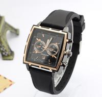 e5d4fb31171a cuadrados relojes baratos al por mayor-Relojes militares de los hombres  Relojes de cuarzo de