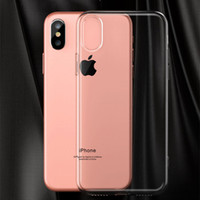 Wholesale Iphone 5g Tpu - Ultra Thin Soft Transparent Clear TPU Case for Apple iPhone 8 7 7 Plus 6 6G 6S Plus 5 5S 5G 4 4S 4G Cover Silicone Gel Phone Bag
