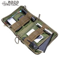Wholesale utility pouches tactical for sale - Tactical Waist Bag MOLLE EDC Tactical Low Profile OP Army Utility Accessories Bag Tactical Organizer Stealth Admin Organizer Pouch
