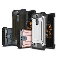 Wholesale K7 Phone - Hybrid Case Cover for LG K4 K5 K7 K8 K10 K350 K371 Cell Phone Case Back Cover