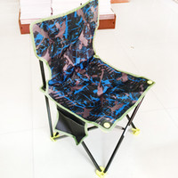 Wholesale Wholesale Portable Stools - Outdoor camping fishing chair Foldable canvas Portable outdoor folding stool bench Sketch leisure fishing chair camp stool