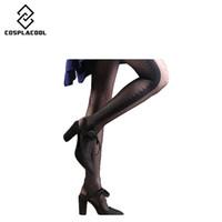 Wholesale Pantyhose Woman Dot - Wholesale- Sexy cite sheer Lace Small dot Pantyhose Tights Slim women