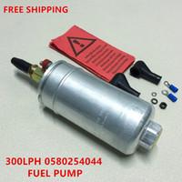 Wholesale High Flow Fuel - E85 High quality 0580254044 300LPH high performance fuel pump power flow 0580 254 044 fuel pump 0580254044 for porsche 911 918