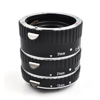Wholesale Meike Extension Tube - Meike Macro Extension Tube Set for Canon with auto focus MK-C-AF-A