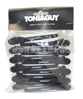 Wholesale Tg Wholesale - Wholesale- Free Shipping Professional carbon hair clips 12 pcs per set, hair sectioning clip TG-08 Hair cutting Clip wholesale