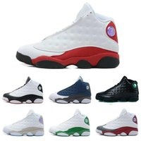 Wholesale Cheap Sequined Tops - 2018Drop shipping Wholesale Jumpman Cheap NEW Top Quality 13 13s mens basketball shoes sneakers running shoes For men US8-13