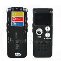 3d аудио mp3 оптовых-Wholesale-8GB 3in 1 Mini USB Flash Pen Disk Drive Digital Audio Voice Recorder 650Hr Dictaphone 3D Stereo MP3 Player Grabadora Gravador