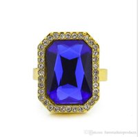 Wholesale Wholesale American Indian Products - new products hiphop jewelry ruby gold ring good quality men women ring jewelry gifts