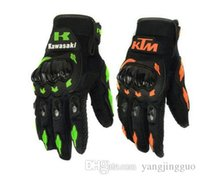 Wholesale Motor Bike Racing Gloves - Racing Limited New Finger Gloves Spot Checked Motor Bike Man Gloves All Wholesale 2016 Outdoor Cycling Sport Kawasaki Ktm Packages Mailed