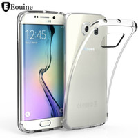 Wholesale S3 Case Clear - Transparent Clear Silicon Fundas Coque for samsung galaxy S3 S4 S5 Mini S6 S7 Edge J1 J3 J5 A3 A5 2016 2015 2017 J7 Grand Prime Case