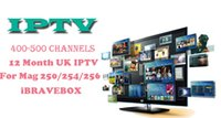 Wholesale UK IPTV subscription month Android tv Box Smart TV Very stable channels for MAG