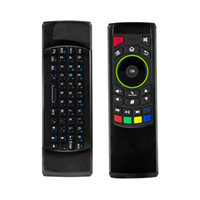 Wholesale Tablet Ir Remote Control - FM5s Mini Wireless Keyboard Six Axis Gyroscope 2.4GHz Air Mouse Keyboard Remote Control IR Learning For Android TV Box Tablet PC MXQ PRO M8S