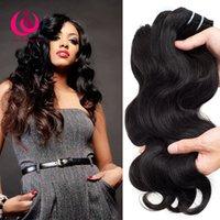 Wholesale Cheap Products Good Quality - 8A Brazilian Human Weave Hair Body Wave 3pcss lot Wow Queen Products Good Quality and Cheap Price Unprocessed Brazilian Virgin Hair Bundles