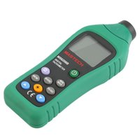Wholesale MS6208B MASTECH Digital Laser Photo Tachometer RPM Meter Non Contact Tacometro