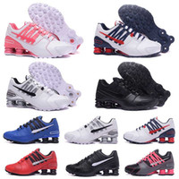Wholesale Newest Designer Sneakers - 2017 Newest men shoes shox avenue 803 crystal casual men air turbo designer sneakers black white running walk red bottoms trainer 36-46