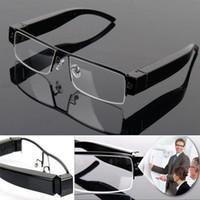 gafas de sol grabadora de video al por mayor-Gafas de cámara Full HD 1080P Gafas DVR cámara estenopeica Gafas de sol de vigilancia de seguridad Mini videocámara de video grabadora de audio V13