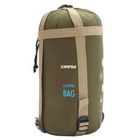 Wholesale Nylon Sleeping Bags - Wholesale- CAMTOA 190 x 75cm Ultralight 3 season Camping Sleeping Bag Envelope Type Cotton Sleeping Bag for outdoor Camping Travel Hiking