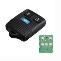 замена бесключевого входа fob оптовых-Замена 3 кнопки дистанционного ключа Keyless Entry Fob для Ford Transit MK6 Connect 2000-2006