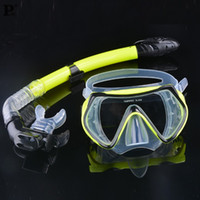 Wholesale fence Hot Selling Summer Scuba Diving Mask Snorkel Glasses Set Silicone Swimming Equipment pool factory