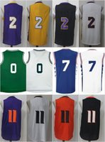 Wholesale Unisex Basketball Shorts - 2017 New No.1 Draft Piack Josh Jackson #11 jersey Lonzo Ball #7 #20 Markelle Fultz #7 #20 Jayson Tatum #0 Rev 30 Basketball Jerseys Stitched