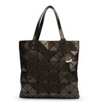 Wholesale Triangular Shoulder Bag - Japanese Women BAO BAO Bag 2016 newest womens ladies 6*6 BAO BAO Totes Triangular Lattice LUCENT BASICS TOTE BAG quilted handbag