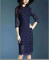 Wholesale Dress Chiffon Crochet - Hot Sale Women's Girl's Casual Vintage long Dresses Long Top Lace Crochet Sleeveless Including S-XXL Size Black Women Clothes Wedding